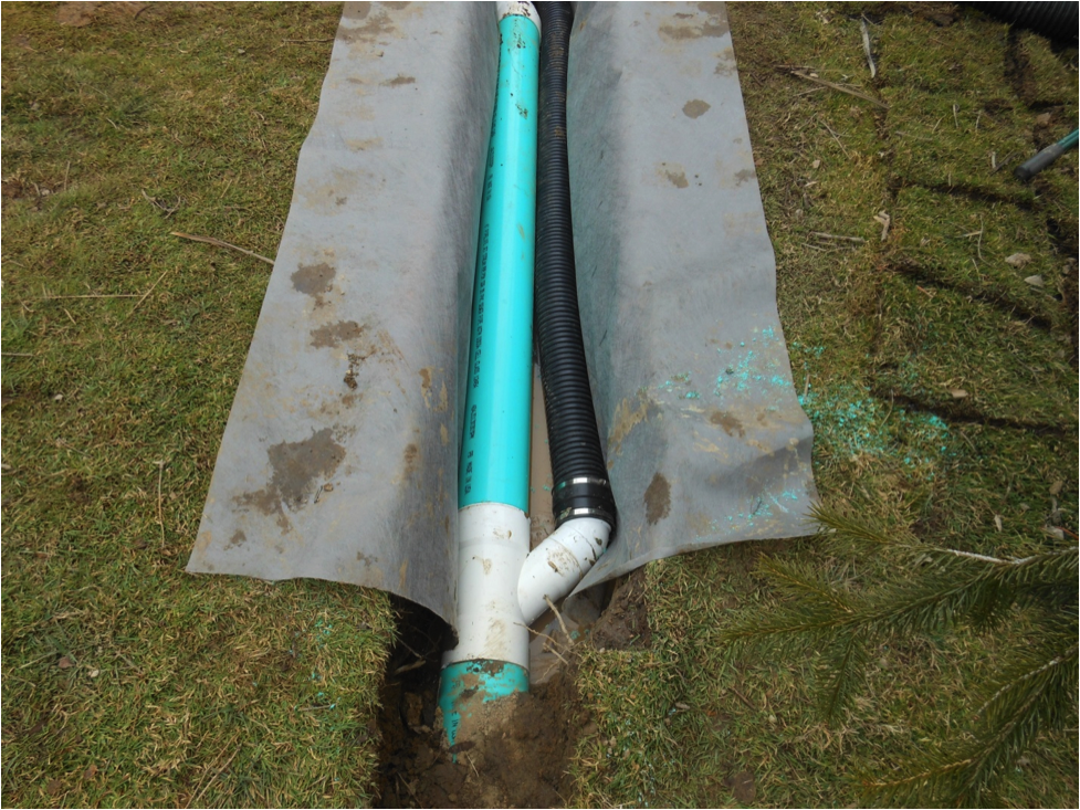 Meyer Landscaping Sub-Grade Drainage Systems